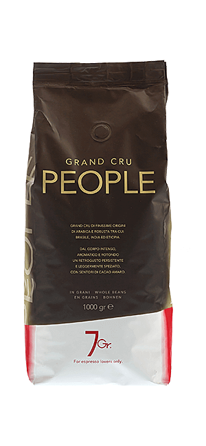 7 Gr. People Coffee Grand Cru Bohnen 1 kg