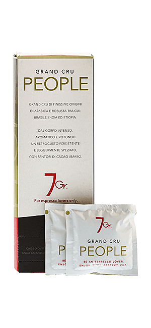 7 Gr. People Coffee Grand Cru 168 g Pad