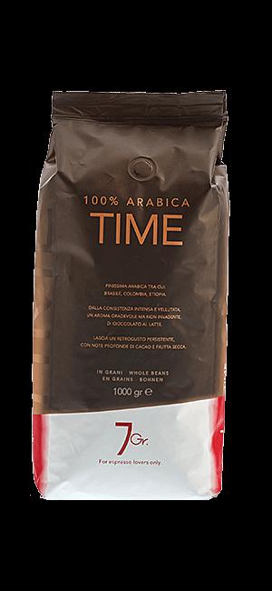 7Gr. Time 100% Arabica Bohnen 1kg