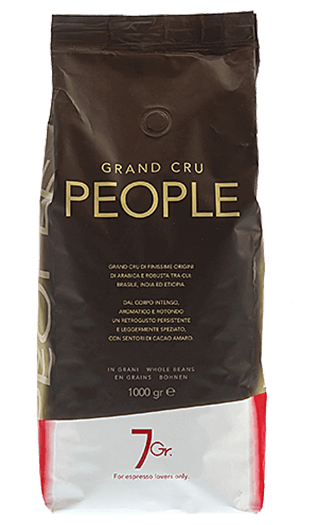 7Gr. People Coffee Grand Cru Bohnen 1000g