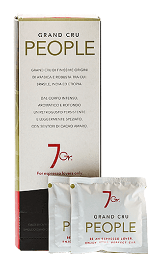 7Gr. People Coffee Grand Cru 24 Pads
