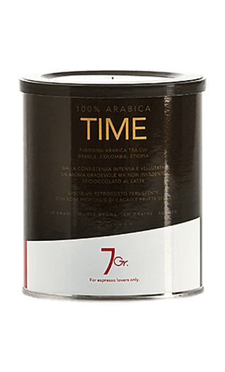 7Gr. Time Coffee 100% Arabica Bohnen 250g Dose