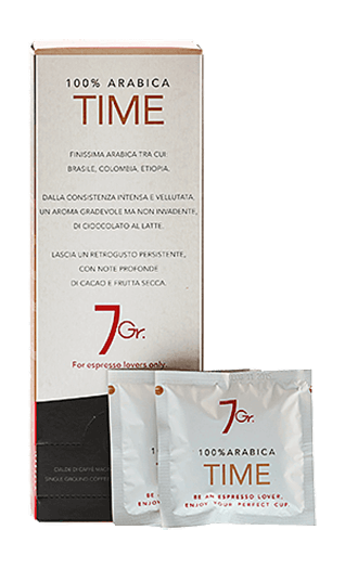 7Gr. Time Coffee 100% Arabica 24 Pads