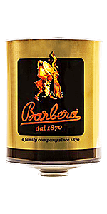 Barbera Caffè Mago Plus Beans 105.82oz Tin