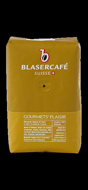 Blaser Cafe Gourmets Plaisir Bohnen 250g
