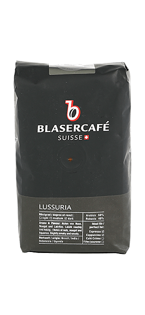 Blaser Cafe Lussuria Bohnen 250g