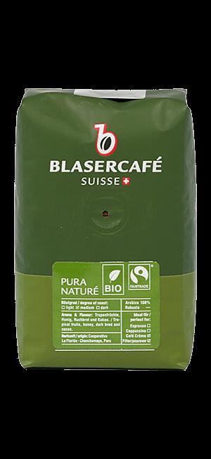 Blaser Cafe Pura Vida Bio Fairtrade Bohnen 250g