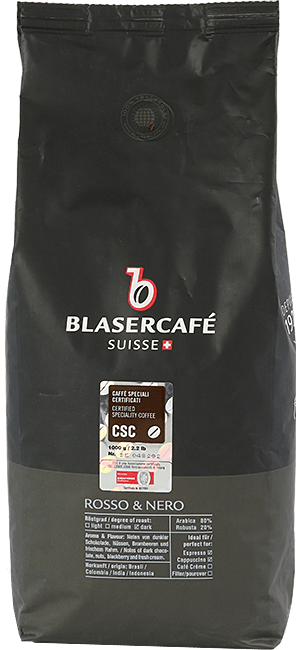 Blaser Cafe Rosso e Nero CSC Bohnen 1kg