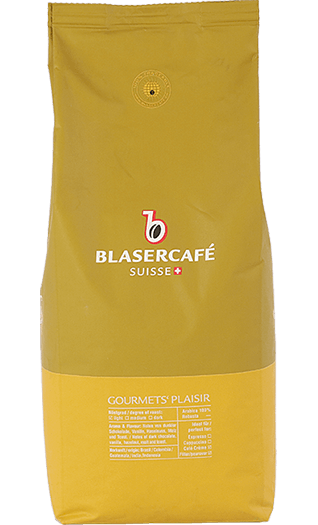 Blaser Cafe Gourmets Plaisir Bohnen 1kg