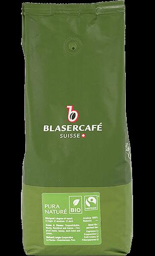 Blaser Cafe Pura Vida Bio Fairtrade Bohnen 1kg
