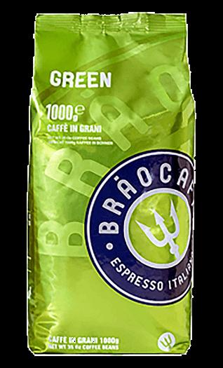 Brao Caffe Green Bohnen 1kg