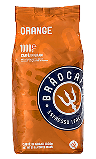 Brao Espresso Orange 1000g Bohnen