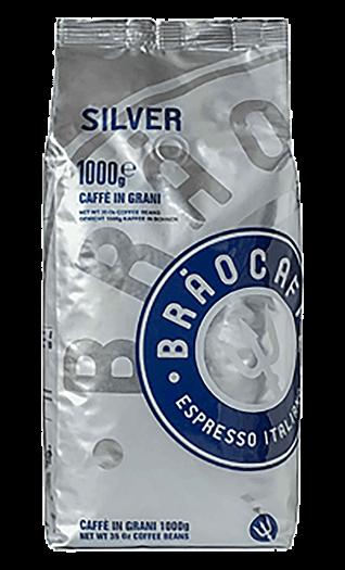 Brao Caffe Silver Bohnen 1kg