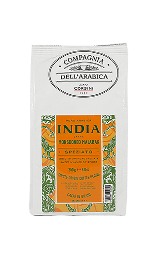 Caffè Corsini India Monsooned Malabar Bohnen 250g
