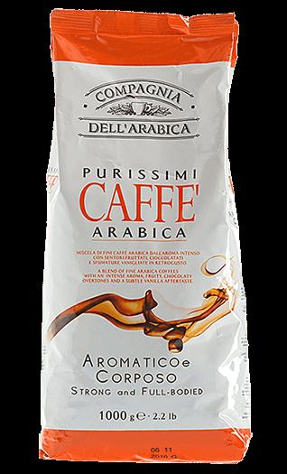 Caffe Corsini Purissimi 100% Arabica Bohnen 1kg