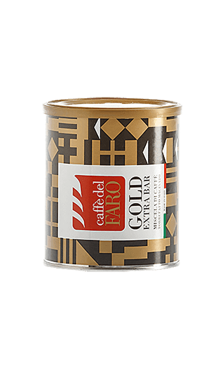 Caffè del Faro Gold Extra Bar ground 8.82oz Tin
