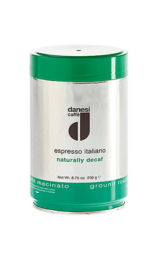 Danesi Decaffèinato ground 8.82oz Tin