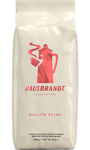 Hausbrandt Qualita Rossa Bohnen 1kg