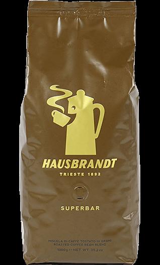 Hausbrandt Caffe Superbar Bohnen 1kg