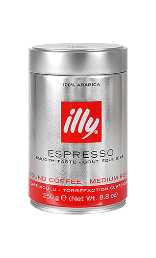 Illy N ground 8.82oz Tin
