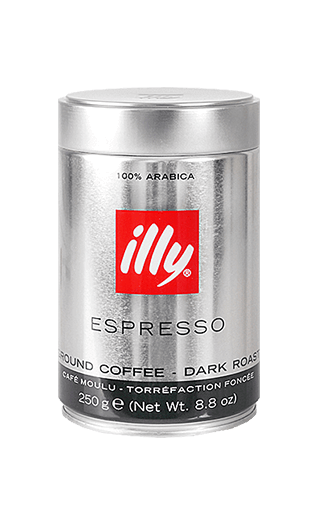 Illy S ground 8.82oz Tin