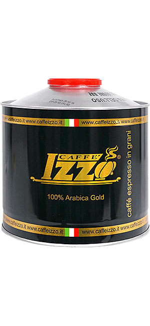 Izzo Arabica Gold Bohnen 1kg Dose