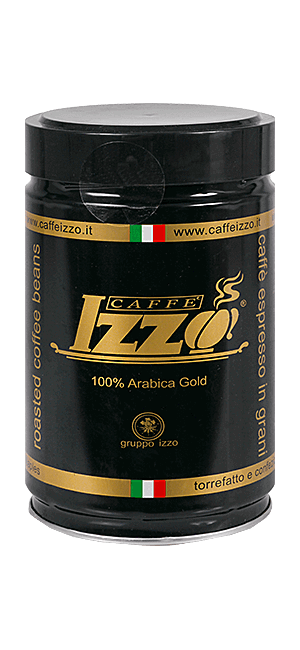 Izzo Arabica Gold Bohnen 250g Dose