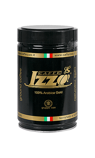 Izzo Arabica Gold ground 8.82oz Tin