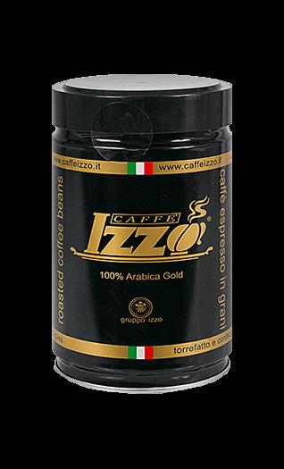 Izzo Caffe Arabica Gold Bohnen 250g Dose