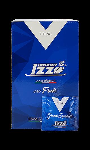 Izzo Caffe Napoletano Silver Pads 150 Stück