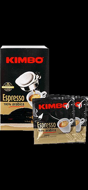 Kimbo 100% Arabica Pads 18 Stück