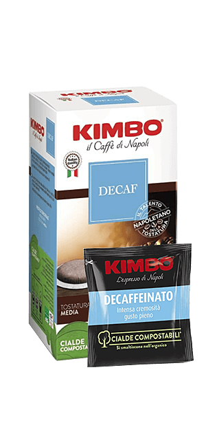 Kimbo Decaffeinato Pads 50 Stück