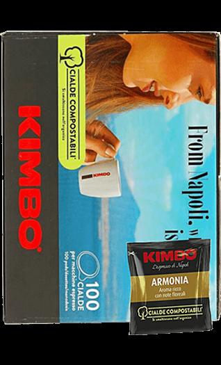 Kimbo Armonia Pads 100 Stück
