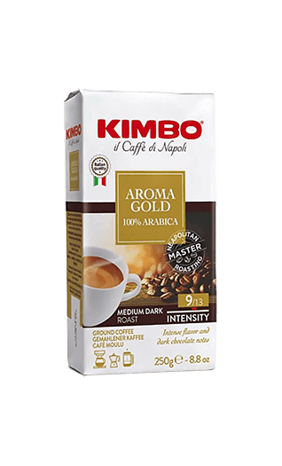 Kimbo Aroma Gold 100% Arabica ground 8.82oz
