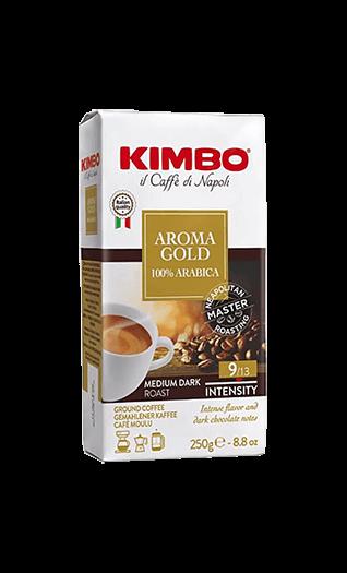 Kimbo Aroma Gold 100% Arabica gemahlen 250g