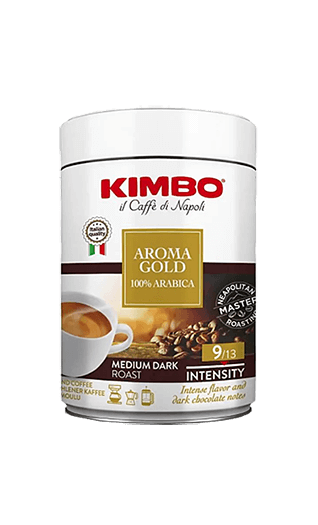 Kimbo Aroma Gold 100% Arabica ground 8.82oz Tin