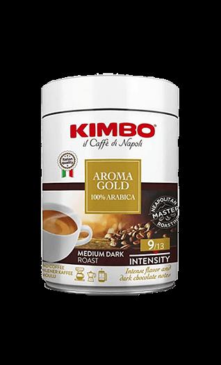 Kimbo Aroma Gold 100% Arabica gemahlen 250g Dose