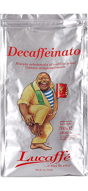 Lucaffe Decaffeinato Bohnen 700g