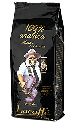 Lucaffe Mr. Exclusive 100% Arabica 35.27oz Beans