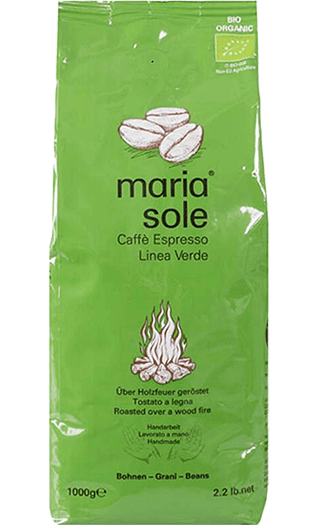 MariaSole Caffe LineaVerde BIO 1000g Bohnen