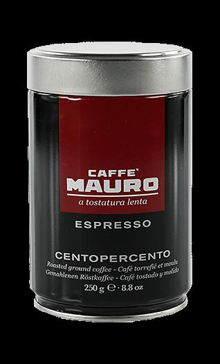 Mauro Espresso Centopercento gemahlen 250g Dose