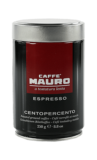 Mauro Caffe Centopercento gemahlen 250g Dose