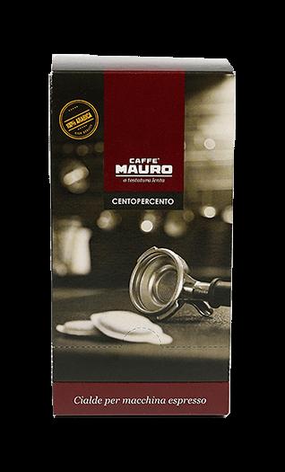 Mauro Kaffee Centopercento Pads 18 Stück
