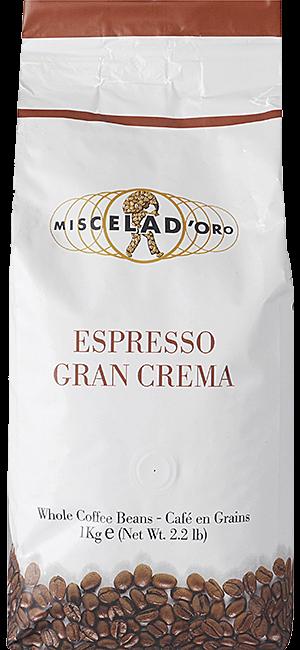 Miscela d\'Oro Gran Crema Bohnen 1kg