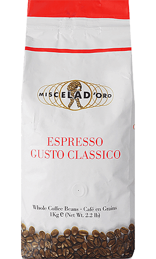 Miscela d'Oro Kaffee Gusto Classico Bohnen 1kg