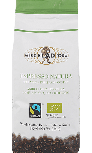 Miscela d'Oro Caffe Natura Bohnen 1kg