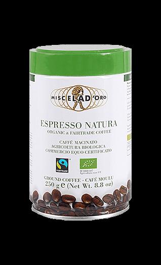 Miscela d'Oro Caffe Natura gemahlen 250g Dose
