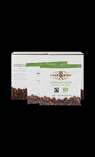 Miscela d'Oro Caffe Natura Pads 150 Stück