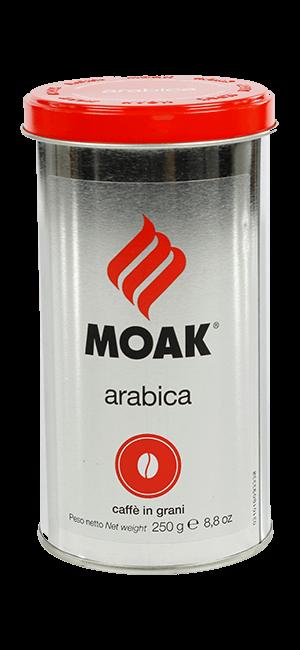 Moak Arabica Bohnen 250g Dose