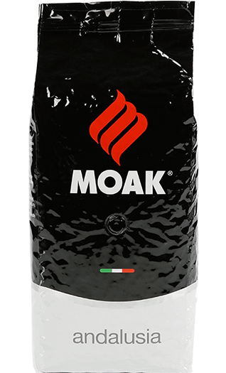 Moak Caffe Andalusia Bohnen 1kg